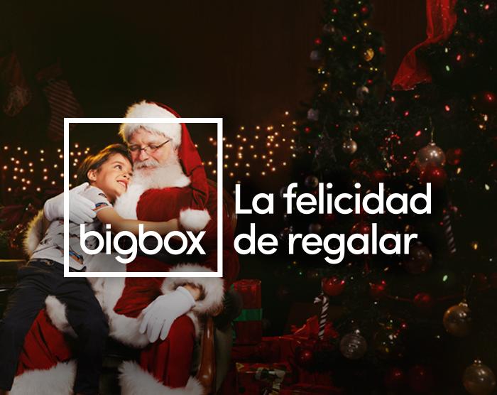 Bigbox homenajea a los papás Noel profesionales