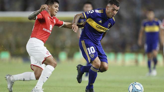 Boca empató sin goles ante Independiente y no pudo acercarse al líder River