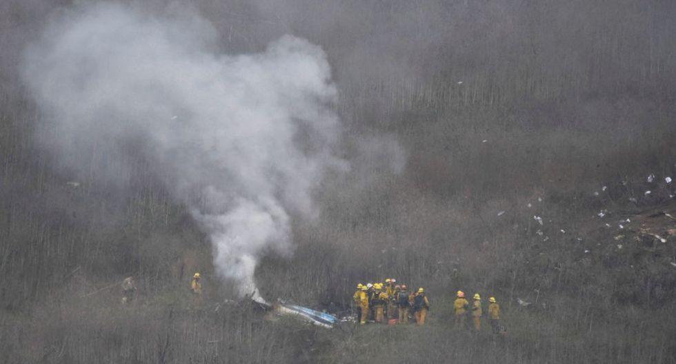 La muerte de Kobe Bryant: así quedó el helicóptero tras el accidente