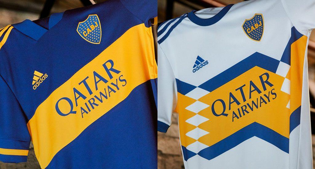 Boca presentó su nueva indumentaria tras el cambio de marca