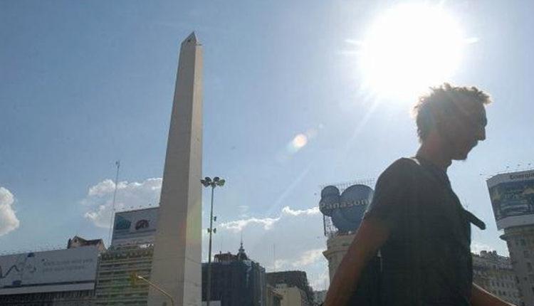 Luego del calor y de un lunes lluvioso, la semana estará algo más fresca y soleada en la Ciudad de Buenos Aires