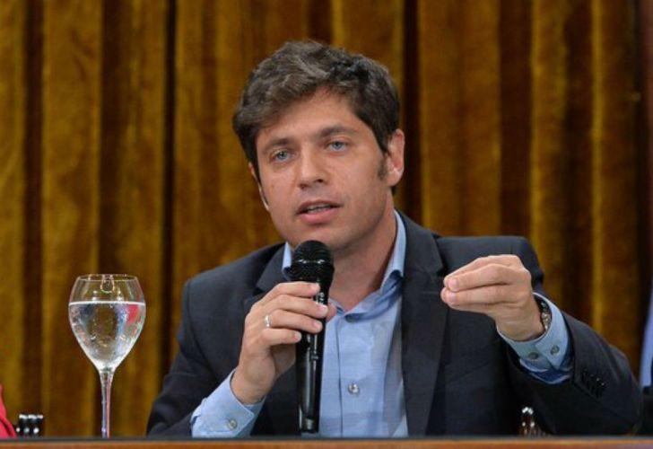 Axel Kicillof afirmó que afrontará los próximos vencimientos con financiamiento local
