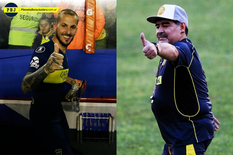 """Benedetto habló del nuevo Boca y opinó sobre la polémica por el recibimiento del club a Maradona: """"Si cruzara a Diego le diría que lo amo"""""""