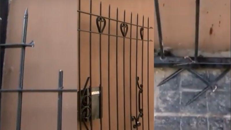 Intentó meterse en la casa de su ex pareja y quedó clavado en la reja: lo rescataron bomberos