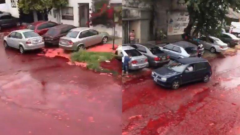 Se derramaron 500.000 litros de sangre y las calles de Morón se tiñeron de rojo