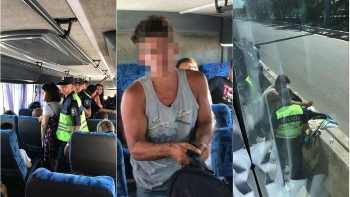 Detuvieron a un hombre por filmar obscenamente a una nena de siete años en un colectivo rumbo a Pilar