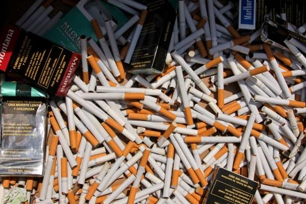 Tráfico ilegal de cigarrillos en Chaco y Formosa